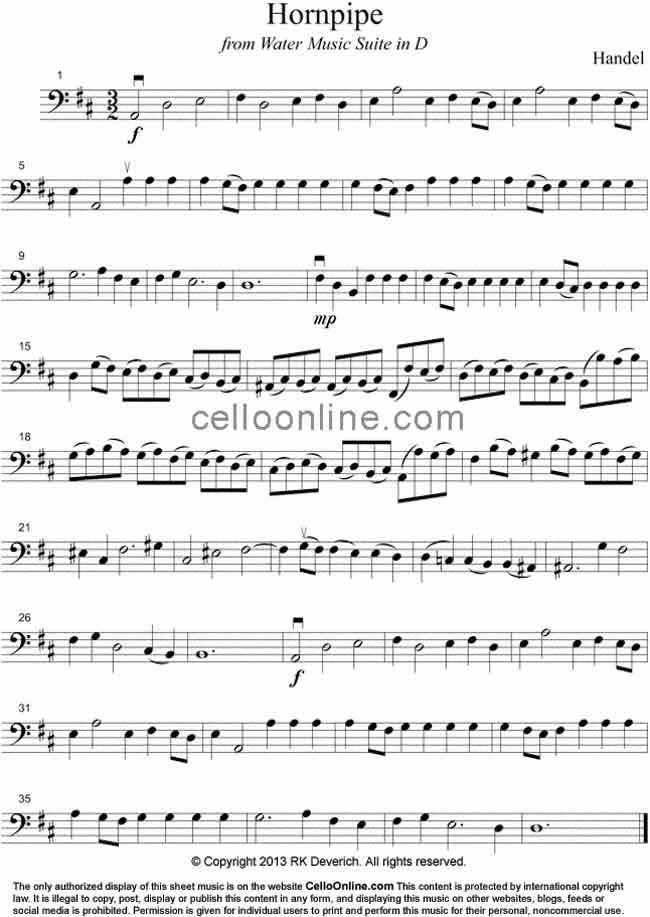 All Music Chords music sheet online free : Cello Online Free Cello Sheet Music -